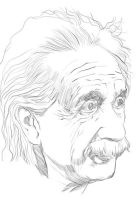 einstein by Menkoholic