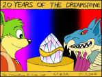 20 Years of Dreamstone Colored by Megamink1997