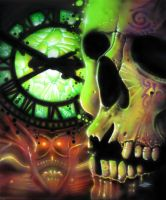 Watching the Clock Again by catbones