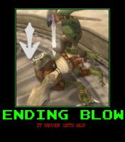 Zelda Ending Blow demotivational poster by Dbgtinfinite