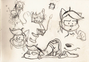 Work Sketches - 070813 - 03 by Atrox-C