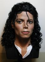 Michael Jackson lifesize Bad era/Moonwalker bust by godaiking