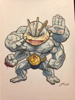 Machamp level 100 by grizlyjerr