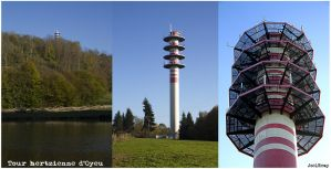 Tower triptych by J222R