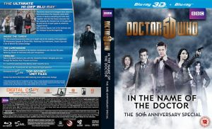 DOCTOR WHO 50TH BLURAY COVER by Umbridge1986