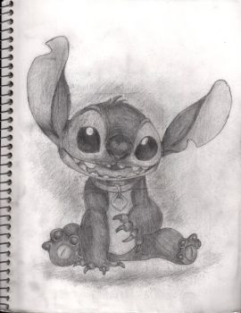 Adorable Stitch by Whitewing16
