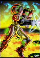 Samus for crazydeano3 by igglypou