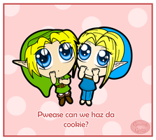 We wanna cookie by GamingGirl73