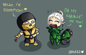 Scorpions crossover by ceressiass