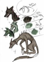 ADOPTS- demon hounds things??? by 2LoveGir