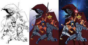 Thundercats Process by thecreatorhd