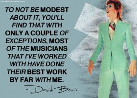 David Bowie - Quote by Wheedles