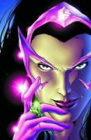 close up on a star sapphire by ez31