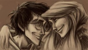 Harry and Ginny WIP by keepsake20