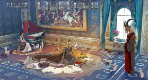 The birth of an Emperor by non-nobis-domine