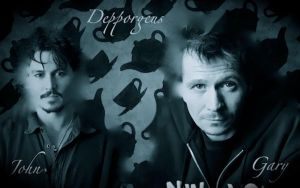 Johnny Depp and Gary Oldman by Depporgeus