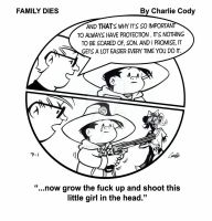 Family Dies #1 by artofmadness