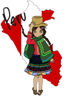 Peru-chan by Happy2Live