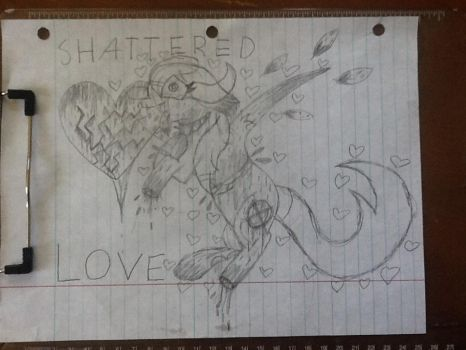 Shattered Love  {GORE} by TheMysteriousSong