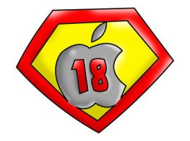 supermac18 logo by ronsquared93