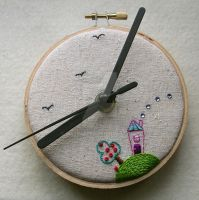 Little Home Wall Clock by MasonBee