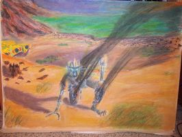 Dinobot's Last Stand 2 by Bubbalou