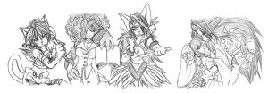 Legend of Mana Charas by Aimiya