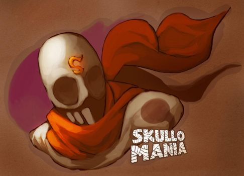 SKULLOMANIA OR BUST by scrotumnose