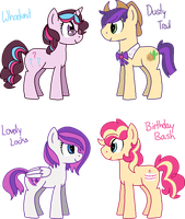 [OFFER] - OTP Fanfoals by Featheries