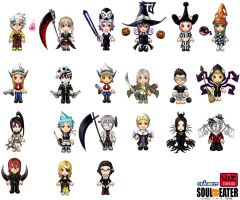 Soul Eater characters by cielociel