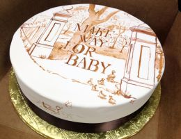 Make Way For Baby cake by BrightlyWound455
