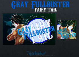 Gray Fullbuster [Pack] by TifaxLockhart