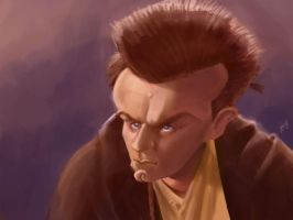 Young Obi by bangalore-monkey
