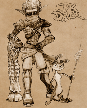 Jak and Daxter by PooLinG-WaTeRs