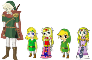 Other Heroes and Princesses of Hyrule (OFFICIAL) by isamisa