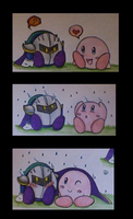 Kirby and MK's Rainy Day by wondergirl9876