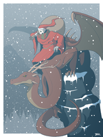 The Christmas Wraith by Blazbaros