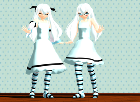 _MMD_ New Peace _DL_ by xXHIMRXx