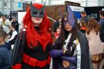 Batwoman and Huntress Cosplay at 2015 Ozcomiccon by rbompro1