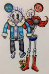 --UNDERTALE-- BigBrotherBestFriendsForever! by rhythmthief000