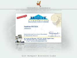 Guy Hoquet Business Card by fredpsycho83