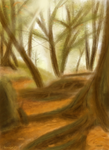 Forest speedpaint by Phoenix67