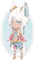 Adopt: Shiro neko by Kialun