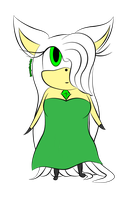 Emerald Angel (Flat Color) by IncognitoArtist