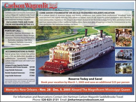 Carlson Wagonlit Travel Ad by rerighthand
