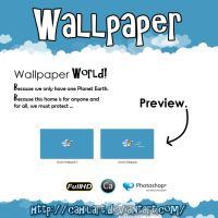 World Wallpaper miniPack by CaHilART