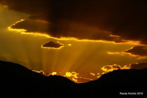Golden Rays by digitalabstract