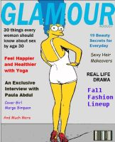 Glamour Magazine Cover by paulibus2001