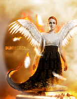 Angel of fire by DuhBatista