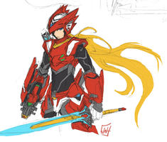 Zero Redesign SKetch by bulletproofturtleman